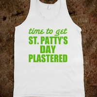 St. Patty's Day Plastered - Underline Designs