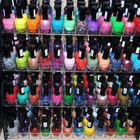 Amazon.com: 48 Piece Rainbow Colors Glitter CVC Nail Polish Lacquer Set + 3 Scented Nail Polish Remover: Health & Personal Care