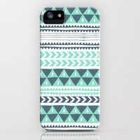 Winter Stripe iPhone Case by Alice Rebecca Potter | Society6
