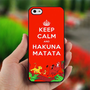Keep Calm And Hakuna Matata - Photo on Hard Cover For iPhone 5