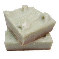 Peppermint And Vanilla Lavender Layered Soap
