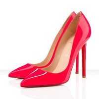 Christian Louboutin Pigalle 120mm Pumps Hot Pink - $145.00