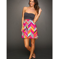 Roxy Savage Tube Dress (Juniors) Fuchsia Print - Zappos.com Free Shipping BOTH Ways