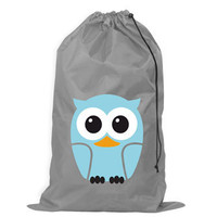  Laundry Bag Owl Blue