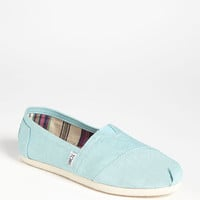 TOMS 'Classic' Metallic Linen Slip-On (Women) | Nordstrom