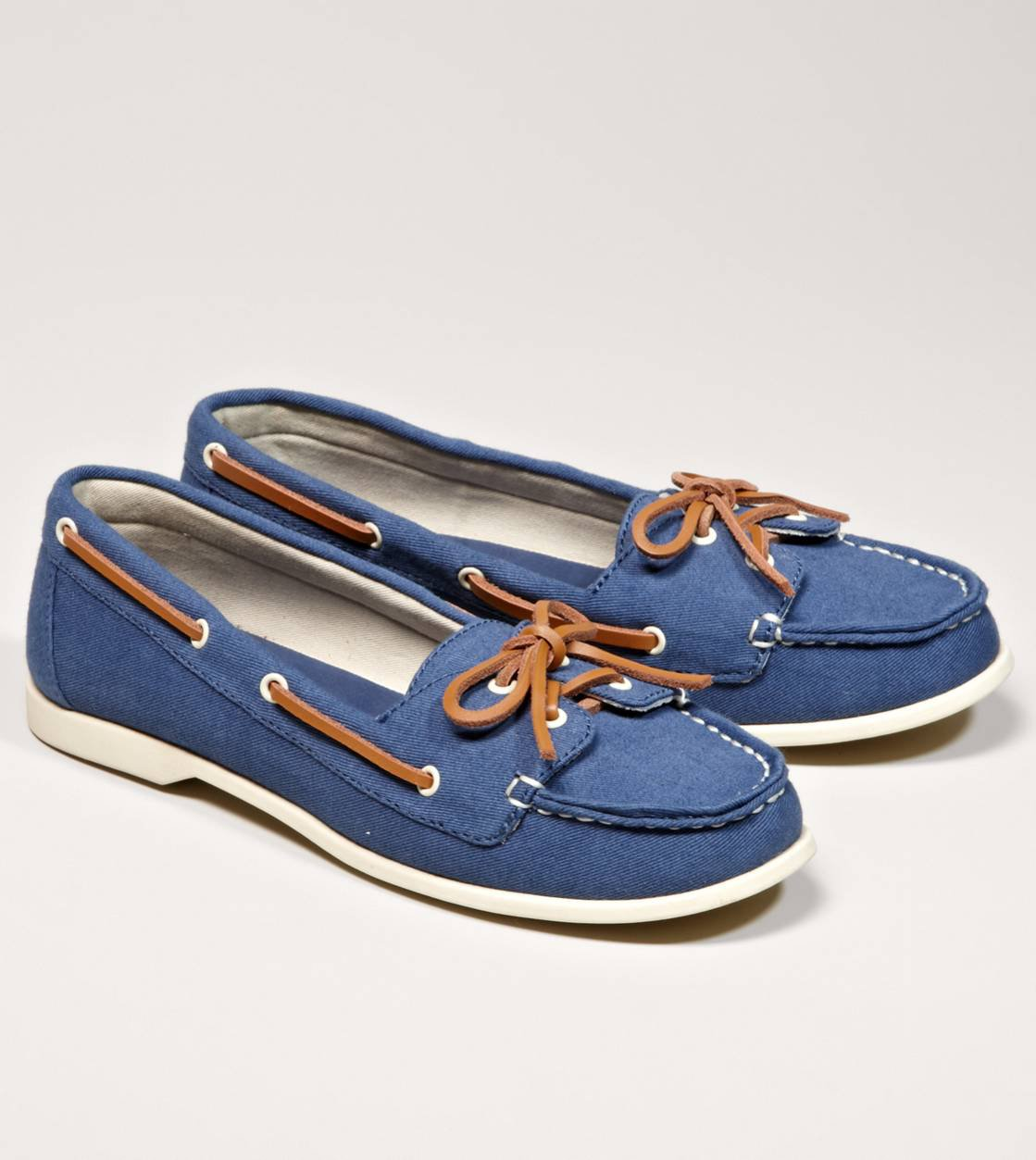 aeo canvas boat shoe american eagle from american eagle