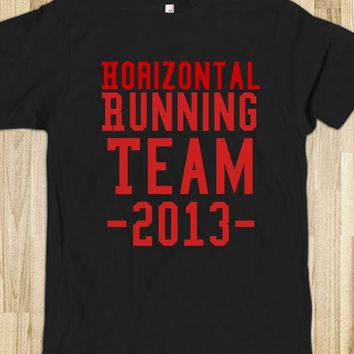 Horizontal running team! - Rachel designs
