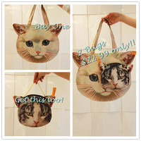 Buy One get BOTH~!! Cat Face Tote Bag Shopper