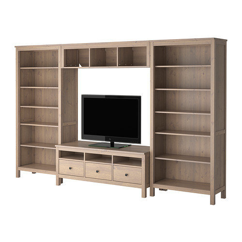 Hemnes Tv Stand Gray Brown : HEMNES TV storage combination  from IKEA
