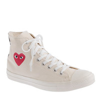 Unisex PLAY Comme des Garçons® for Converse® high-top sneakers - sneakers - Men's shoes - J.Crew
