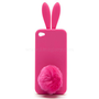 Bunny Ear/Tail Case for iPhone 5