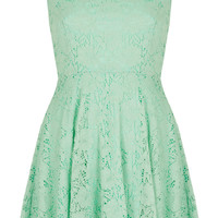 **Lace Skater Dress by Oh My Love - Dresses - Clothing - Topshop