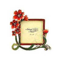 Ashleigh Manor 3 by 3-Inch Outrageous Red Frame