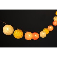 Amazon.com: 20 X Pastel Mix Yellow Soft Ambience Light Color Cotton Ball String Light Decor Home Living Room Patio Wedding Light Party Display: Home & Kitchen