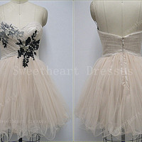 Glamorous Beaded  Strapless /Pleated Bodice Prom dresses