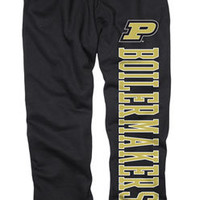 Purdue Boilermakers Black Couch Island Sweatpants