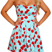 Cherry Treat-Great Glam is the web's top online shop for trendy clubbin styles, fashionable party dress and bar wear, super hot clubbing clothing, stylish going out shirt, partying clothes, super cute and sexy club fashions, halter and tube tops, belly an