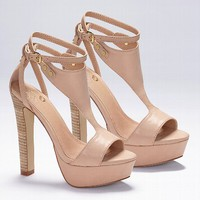 T-strap Platform Sandal