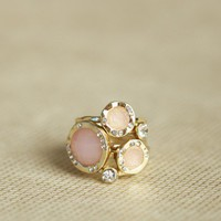 muse stackable ring set in blush at ShopRuche.com