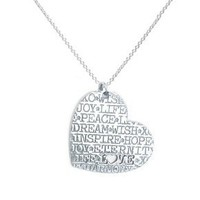 Heart Inspiration NecklaceNG921