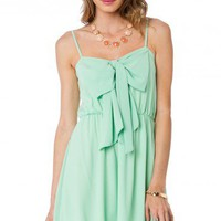 Miranda Dress in Mint - ShopSosie.com