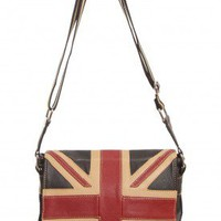 Union Jack messenger bag small