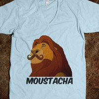 MOUSTACHA - The Shirt Heard &#x27;Round The World