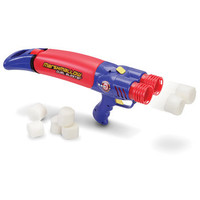 The Rapid Reload Double Marshmallow Blaster - Hammacher Schlemmer