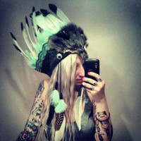 Blue Skies Headdress