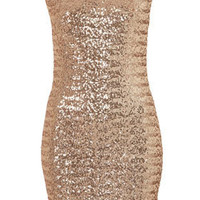 Sequin Cross Back Bodycon Dress By Dress Up Topshop** - New In This Week - New In - Topshop USA