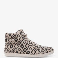 Southwestern Print Canvas Sneakers | FOREVER 21 - 2040375484