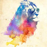 Sunny Leo   Art Print by Robert Farkas | Society6
