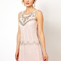 Frock and Frill Deco Sequin Shift Dress at asos.com