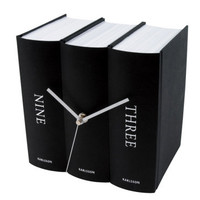 INFMETRY:: Book Desk Table Clock - Clock - Home&amp;Decor