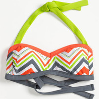 BCA Chevron Stripe Bandeau Bikini Top | Nordstrom