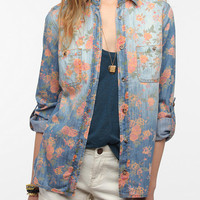 Urban Outfitters - BDG Printed Denim Shirt