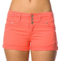 Twill Shorts - Peach at Lucky 21 Lucky 21