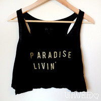 Women's Crop Tank by UnraveledClothing on Etsy