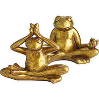 Peace/ Yoga Frogs