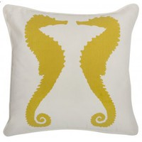 Thomas Paul Outdoor Collection - Seahorses Pillow