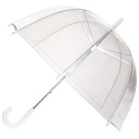 Totes - Adult Clear Bubble Umbrella