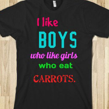 Who Like Carrots. - you'd never think five boys on a set of stairs would change the world.