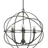 Solaris Chandelier - Chandeliers -  Ceiling Fixtures -  Lighting | HomeDecorators.com