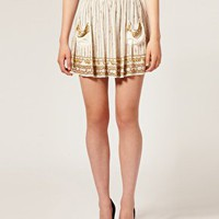ASOS | ASOS Embellished Full Skirt With Pockets at ASOS