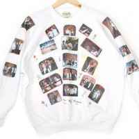 DIY Awkward Family Photographs Tacky Ugly Photo Sweatshirt Adult Size XL (Women's/Men's) $12 - The Ugly Sweater Shop