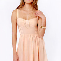 Insight Manifesto Peach Dress