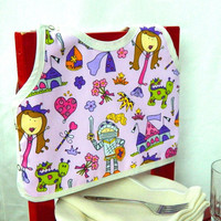 Princess Fairytale Bib by maddywear