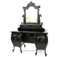 Fabulous & Baroque ? Fabulous & Rococo Dressing Table - Black