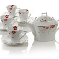 Red Bloom Teapot Set at Teavana        | Teavana