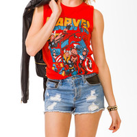 Marvel Characters Tee | FOREVER21 - 2020234348